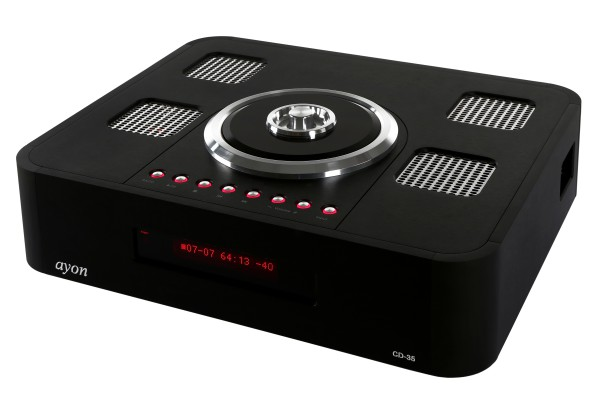 AYON AUDIO CD-35 front-left