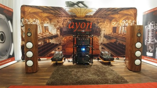 AYON AUDIO alias Living Sound na Klangbilder 2016