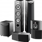 FOCAL Chorus 700V in black ash
