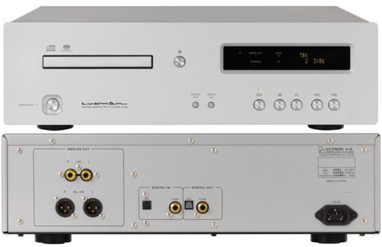 LUXMAN D-05 front and rear new