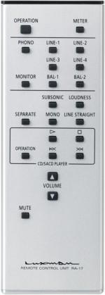 LUXMAN L-507uX remote controller