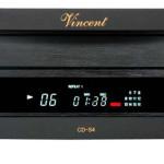 VINCENT CD-S4 black