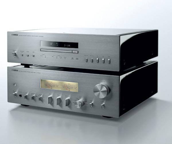 YAMAHA A-S2100 + CD-S2100